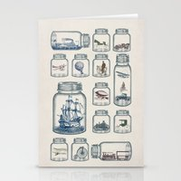 car Stationery Cards featuring Vintage Preservation by Paula Belle Flores