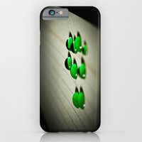 iPhone & iPod Case featuring Emerald Rain by Flapjacks