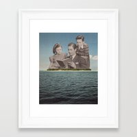 It Was Not Enough Framed Art Print