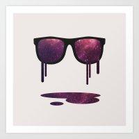 Art Print featuring Expand Your Horizon by filiskun