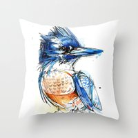Belted and Brazen Throw Pillow