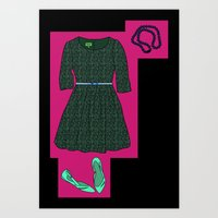 Sweet Date Night Art Print