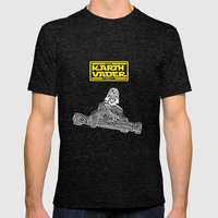 Kart Vader Mens Fitted Tee Tri-Black SMALL