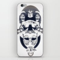 JUST VISITING iPhone & iPod Skin