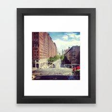 10th Ave Framed Art Print