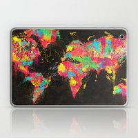 Psichedelic Continents Laptop & iPad Skin