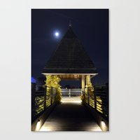 Night Tower  Canvas Print