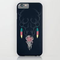iPhone Cases featuring Darkness Within (Color Ver.) by Steven Toang