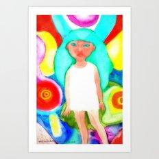 Miss Psyche 03 Art Print