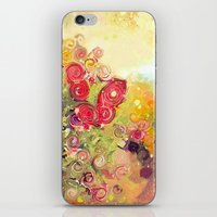 Colorful Flower Basket P… iPhone & iPod Skin