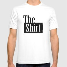The Shirt Mens Fitted Tee White SMALL