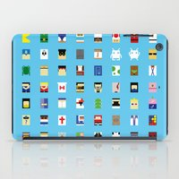 Minimalism beloved Videogame Characters iPad Case