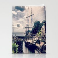 CHARLESTOWN  CORNWALL Stationery Cards