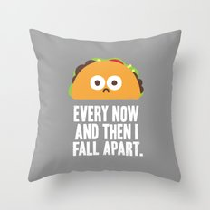 Taco Eclipse Of The Hear… Throw Pillow