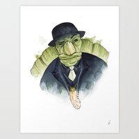 Mr. Tortoise's Luck Art Print