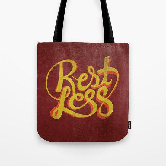 RestLess. Tote Bag