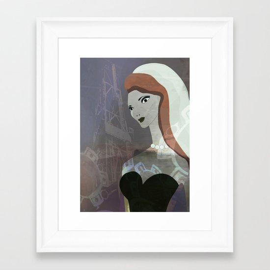 JEZEBEL-32 Framed Art Print