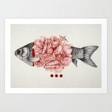 To Bloom Not Bleed III Art Print