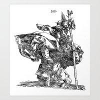 St. Christopher Art Print