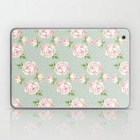 Vintage Roses Pattern Laptop & iPad Skin