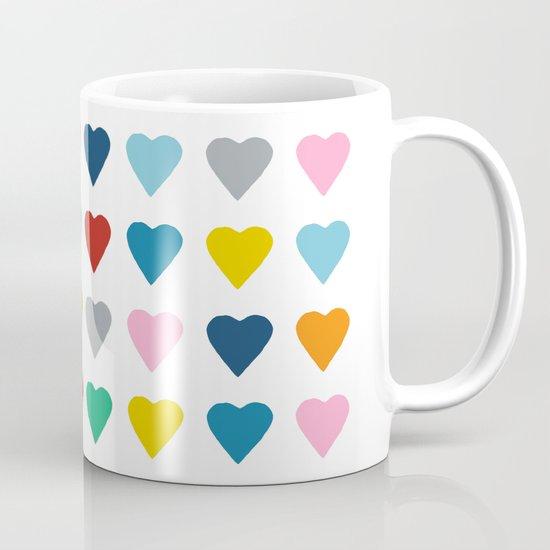 64 Hearts Mug
