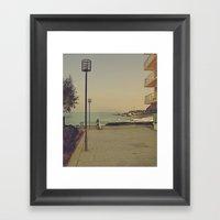 Man's Best (surfing) Fri… Framed Art Print