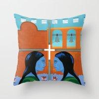 Congregation Throw Pillow