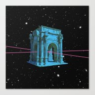Time Travel Canvas Print