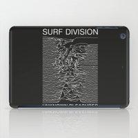 SURF DIVISION iPad Case