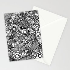Flower Fountain Stationery Cards