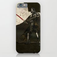 darth vader iPhone & iPod Cases featuring Darth Vader by Peter Coleman