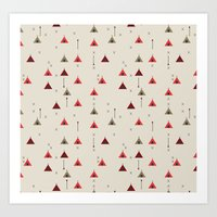 TEE PEE - Tipi - NATIVE … Art Print