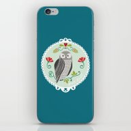 Piccola Damigella Gufo iPhone & iPod Skin