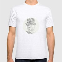 Optical Illusions - Iconical People 1 Mens Fitted Tee Ash Grey SMALL
