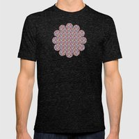 In the Repeat - JUSTART © Mens Fitted Tee Tri-Black SMALL