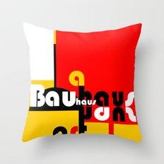 Bauhaus Lamp Throw Pillow