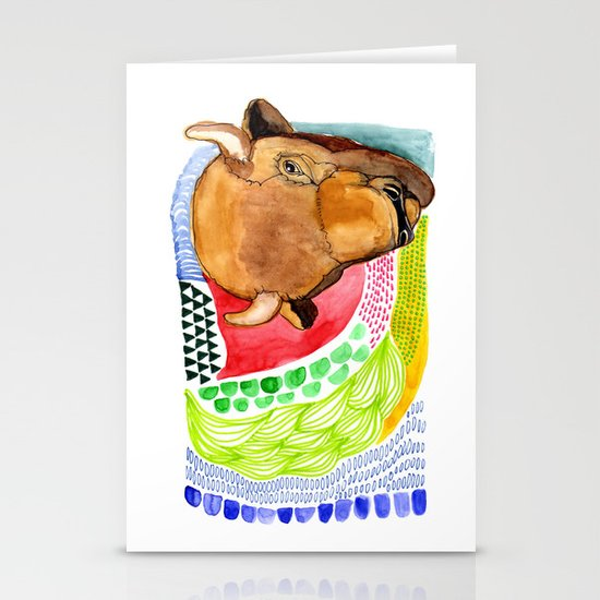 BUFFALO Stationery Card