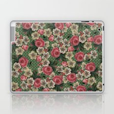 Vintage Rose Pattern Laptop & iPad Skin