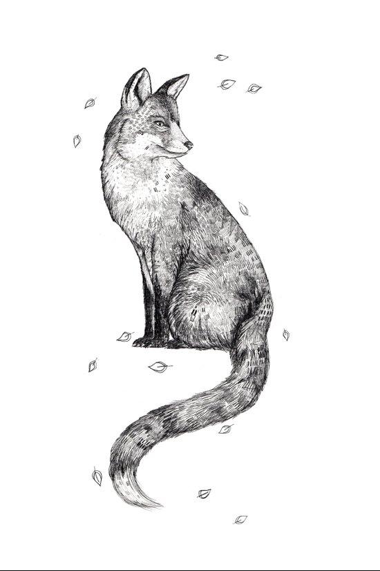 Foa // Graphite Art Print