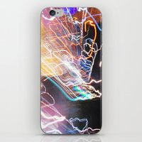 Techno-Finger Painting iPhone & iPod Skin