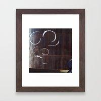 Ant Take a Shower Framed Art Print