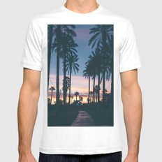 First Day of Summer Mens Fitted Tee White SMALL