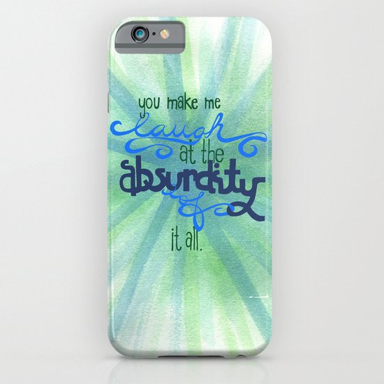 Laugh iPhone & iPod Case