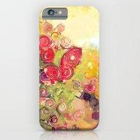 Colorful Flower Basket P… iPhone 6 Slim Case