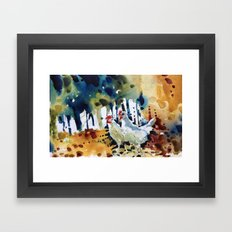 Ruth and Marcelle Framed Art Print