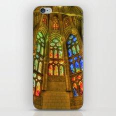Sagrada Família, Barcelona, Spain iPhone & iPod Skin