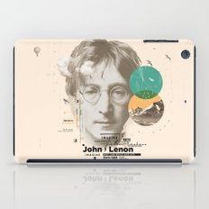 john lenon-imagine iPad Case