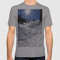 A New Season Mens Fitted Tee Athletic Grey SMALL