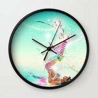Burst Wall Clock