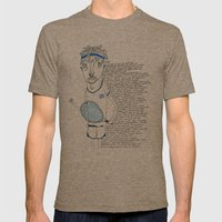 Tennis Mens Fitted Tee Tri-Coffee SMALL
